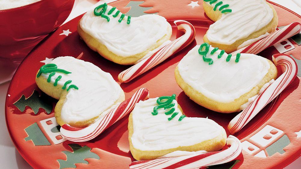 Pillsbury Christmas Sugar Cookies  Holiday Sugar Cookie Skates recipe from Pillsbury