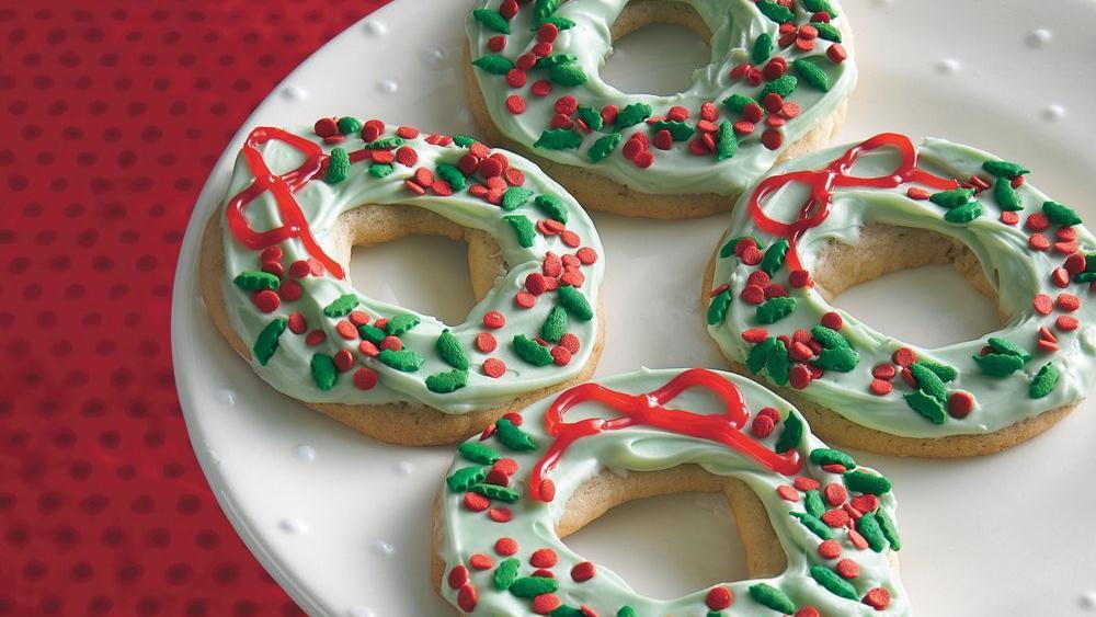 Pillsbury Christmas Sugar Cookies  Holiday Wreath Sugar Cookies recipe from Pillsbury