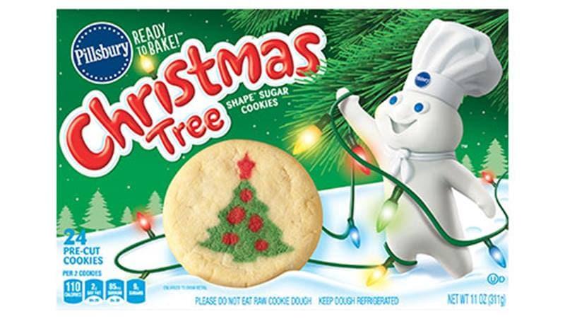 Pillsbury Christmas Tree Cookies  Pillsbury™ Shape™ Christmas Tree Sugar Cookies Pillsbury