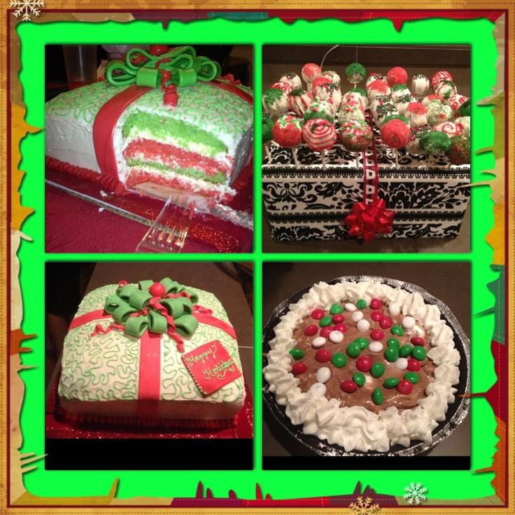 Pinterest Christmas Desserts  Christmas Desserts Yum