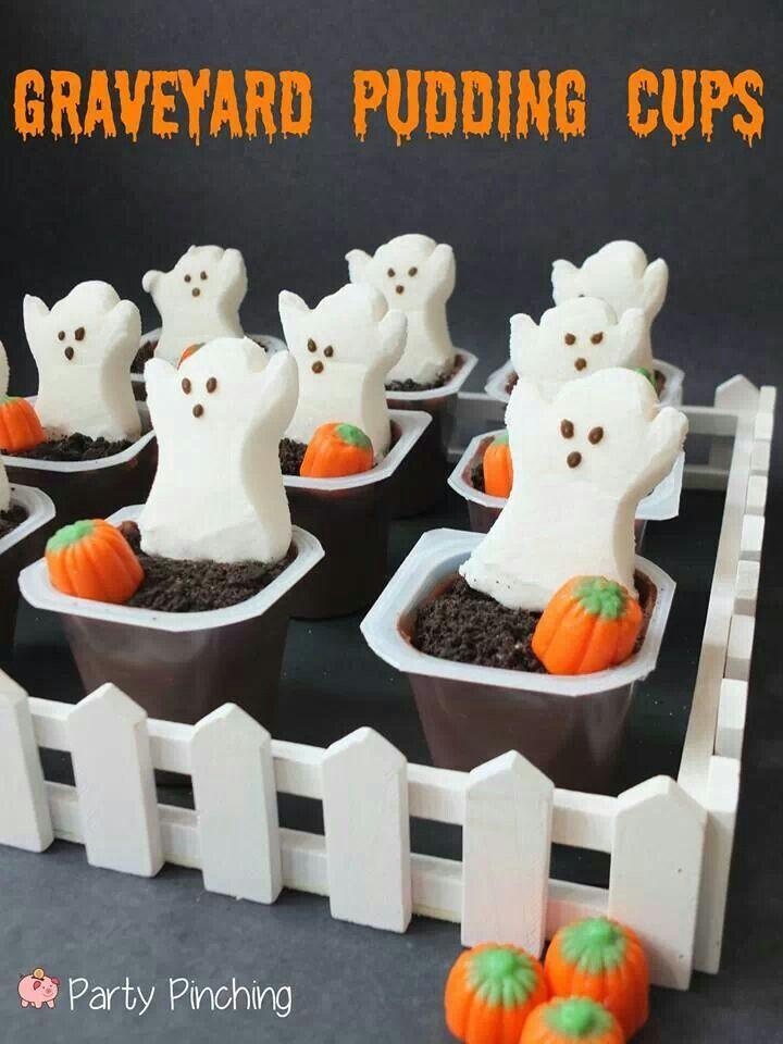 Pinterest Halloween Desserts  Halloween Classroom Crafts & Treats