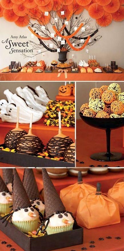 Pinterest Halloween Desserts  Cute Halloween desserts yummies