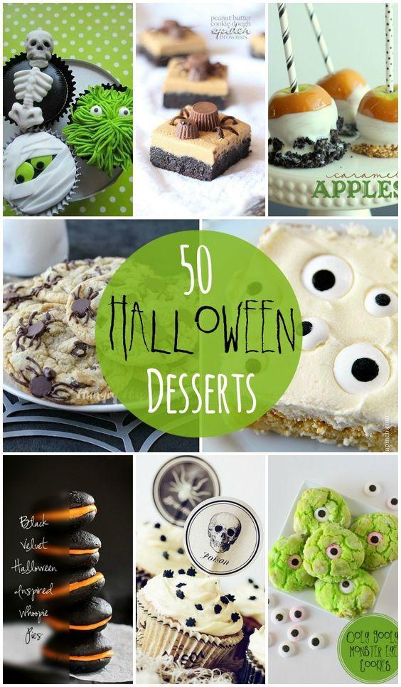 Pinterest Halloween Desserts  Halloween desserts Dessert ideas and Desserts on Pinterest