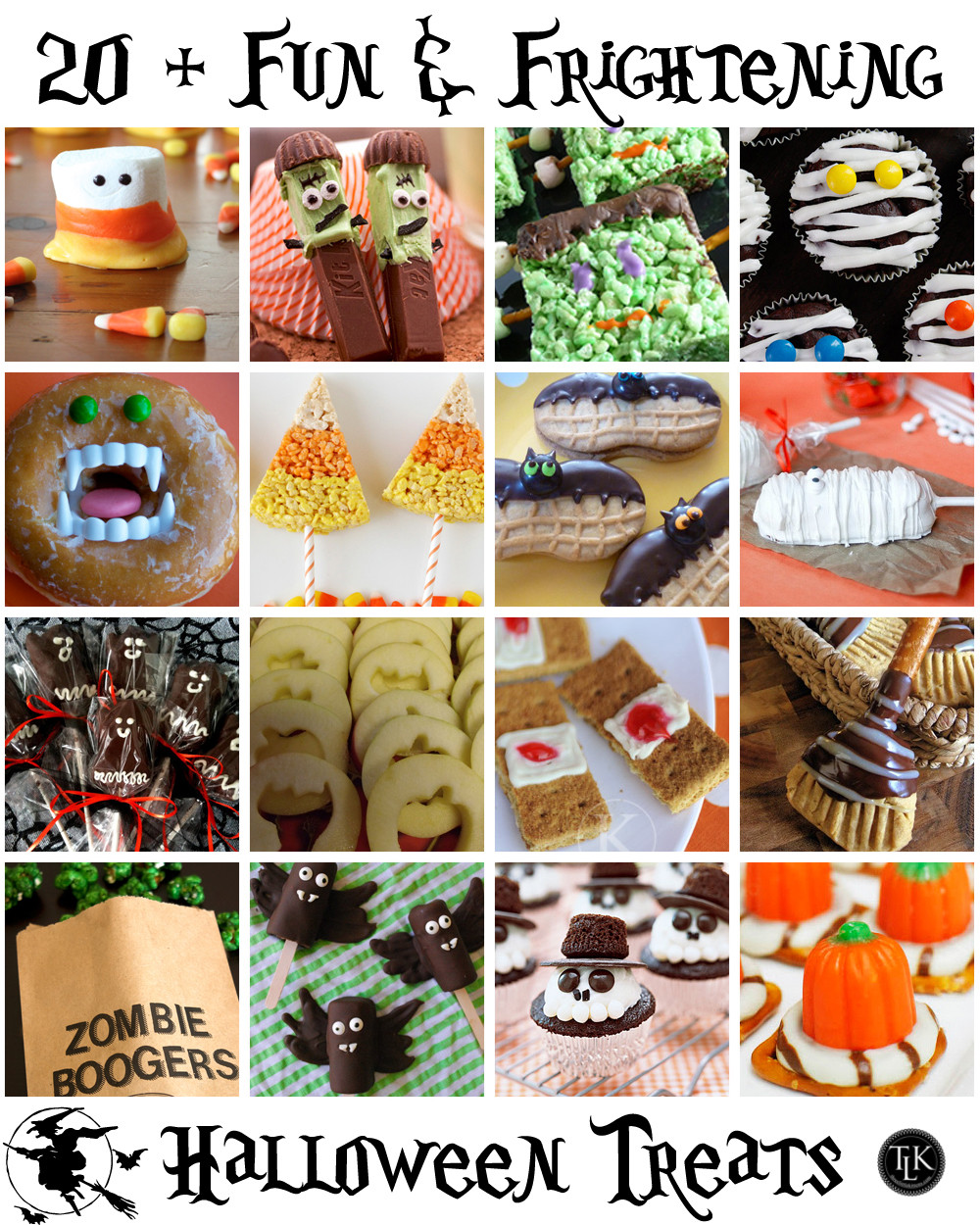 Pinterest Halloween Desserts  Falloween Pinterest Halloween Treats II