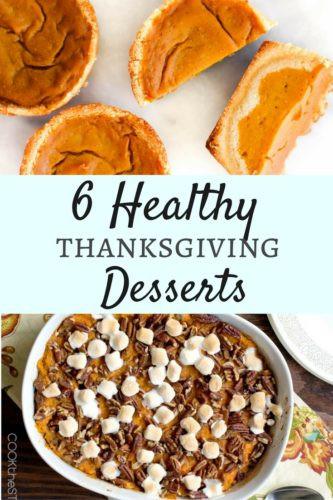Pinterest Thanksgiving Desserts  Dawn P Darnell 6 Healthy Pinterest Thanksgiving