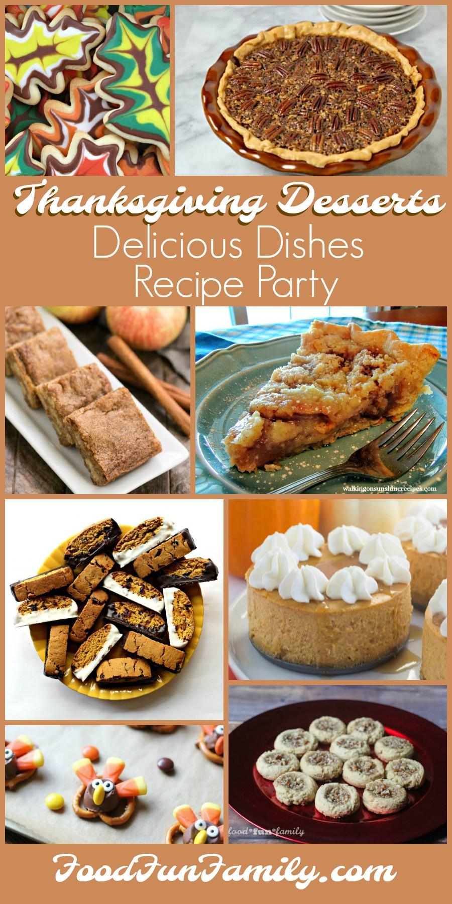 Pinterest Thanksgiving Desserts  Thanksgiving Dessert Recipes – Delicious Dishes Recipe