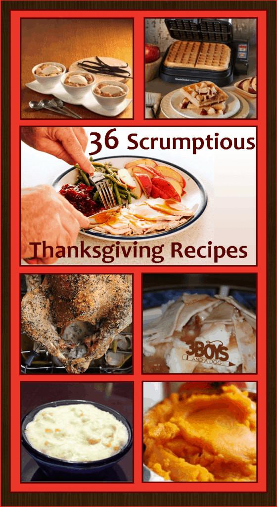 Pinterest Thanksgiving Desserts  36 Yummy Pinterest Thanksgiving Recipes – 3 Boys and a Dog