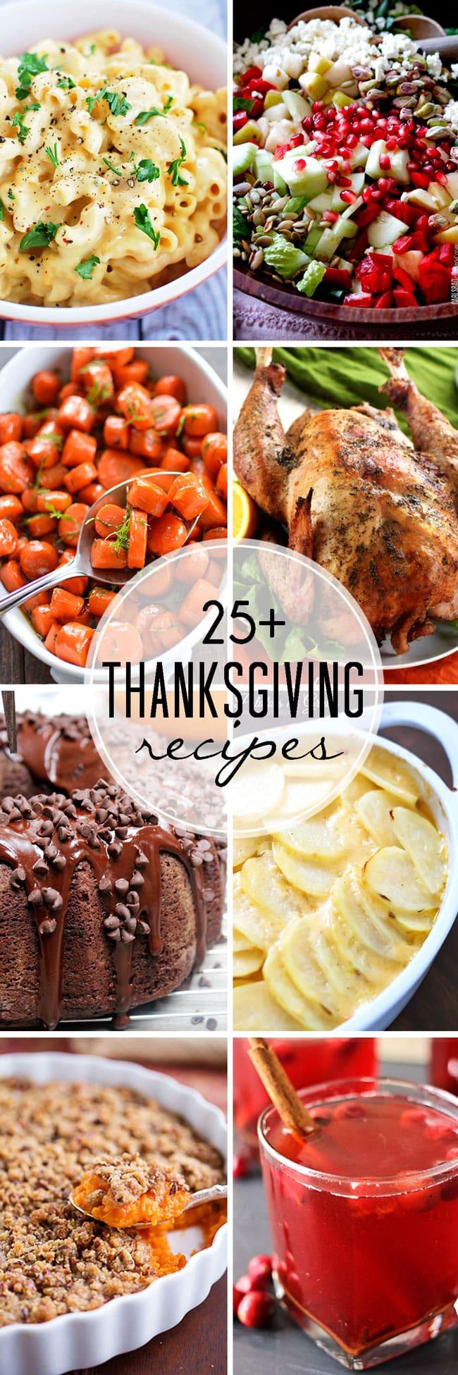 Pinterest Thanksgiving Desserts  25 Thanksgiving Recipes
