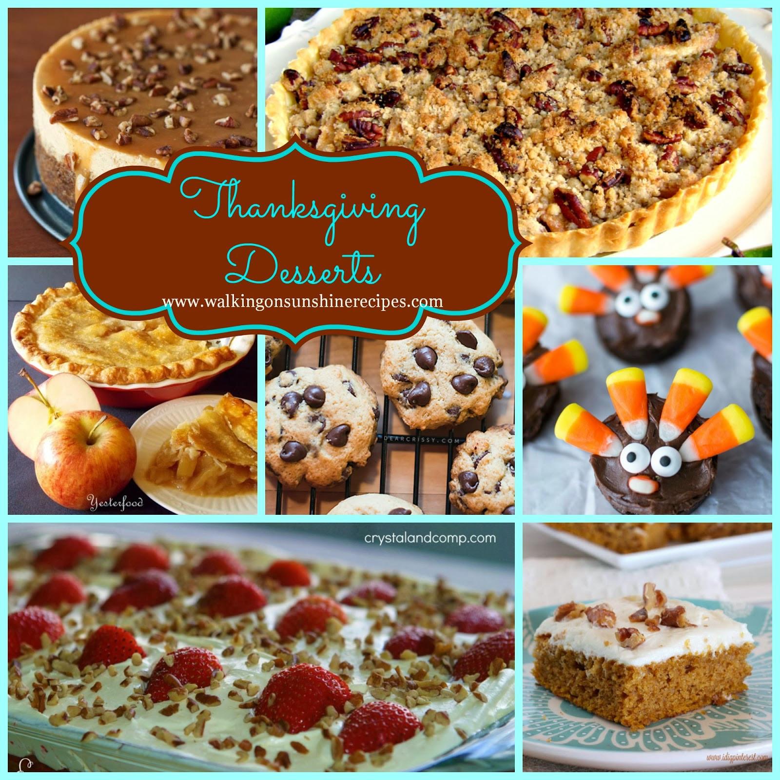 Pinterest Thanksgiving Desserts  Holidays The Best Desserts to Make for Thanksgiving