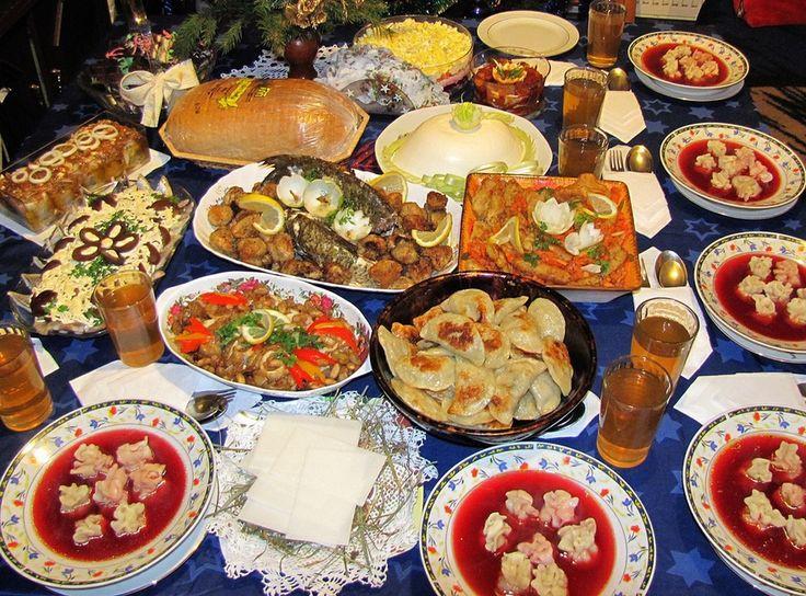 Polish Christmas Eve Dinner  Pin by Eva Palmieri on Holiday Food