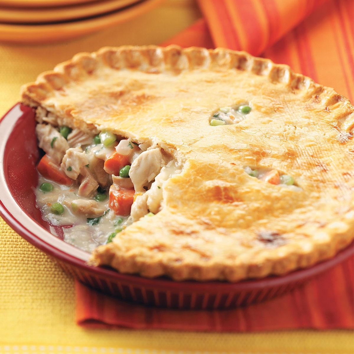 Polly'S Pies Thanksgiving Dinner  Turkey Potpies Recipe