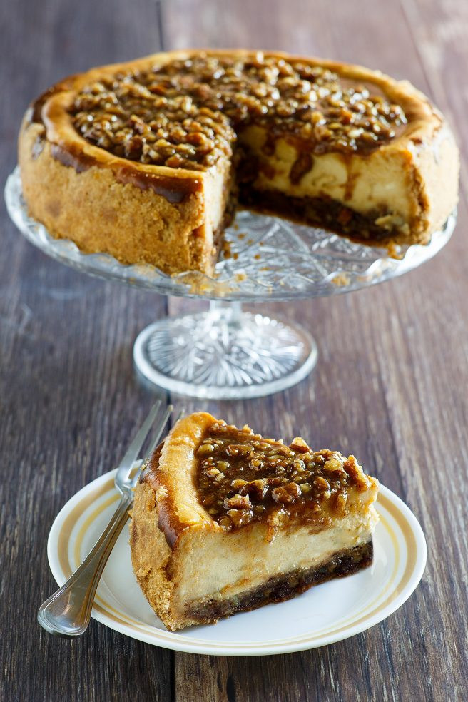 Polly'S Pies Thanksgiving Dinner  Pecan Pie Cheesecake Thanksgiving and Christmas Dessert