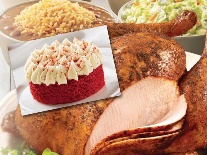 Popeyes Thanksgiving Turkey 2019  Popeyes Cajun Turkeys And New Red Velvet Cake Now