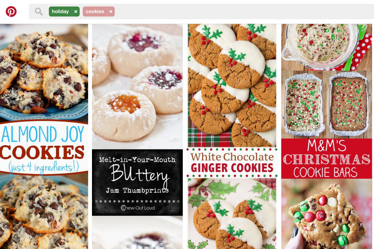 Popular Christmas Cookies  What is Pinterest's most popular Christmas cookie recipe
