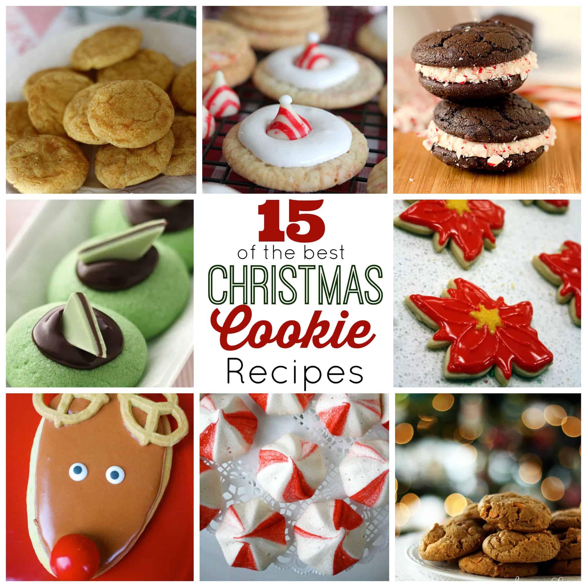 Popular Christmas Cookies  15 of the Best Christmas Cookies