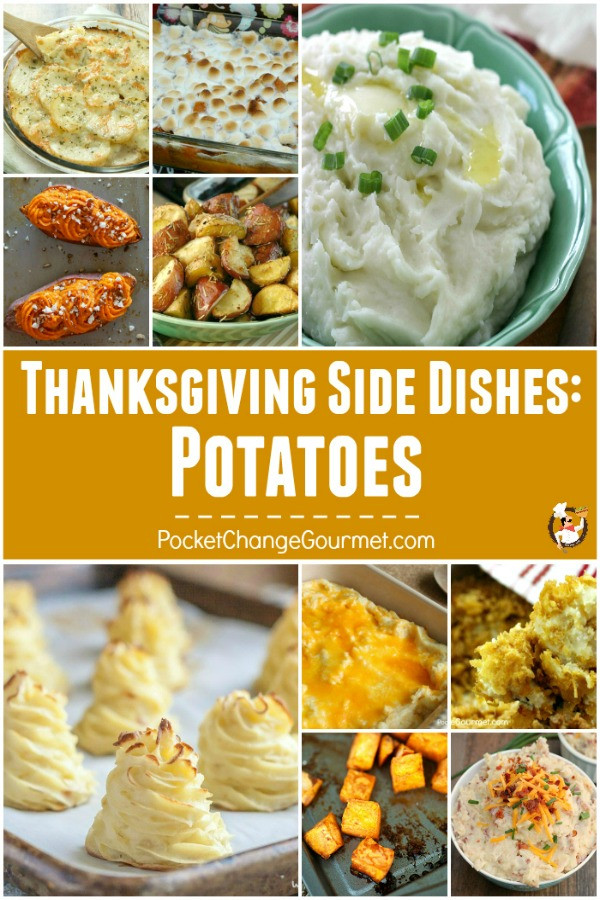 Potatoes Thanksgiving Side Dishes  Thanksgiving Ve able Recipes Recipe