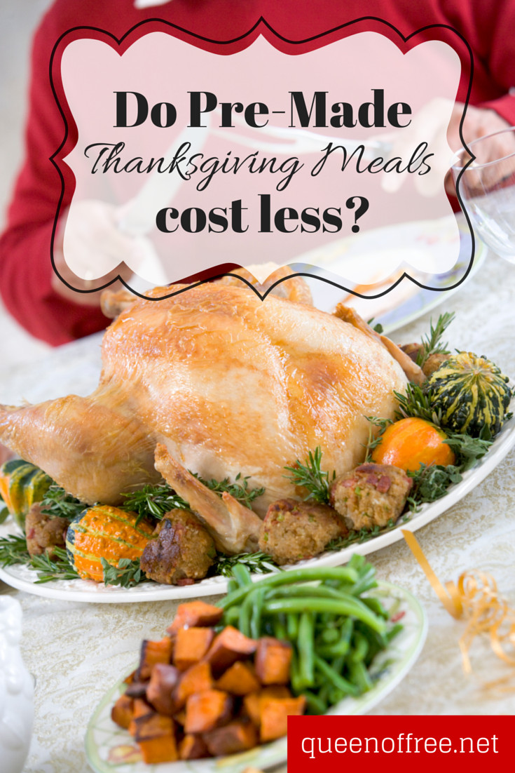 Pre Made Turkey For Thanksgiving  Could Thanksgiving Meals to Go Be Cheaper