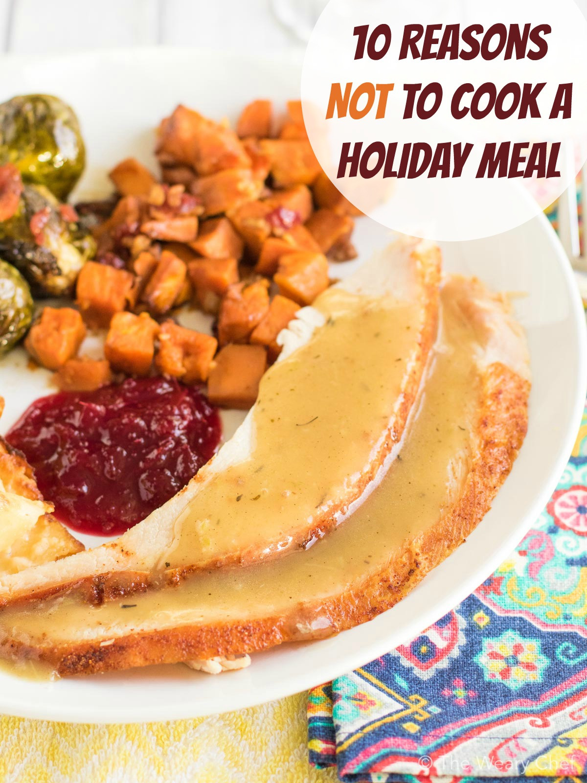 Premade Christmas Dinner  10 Reasons to Order a Pre Made Holiday Dinner The Weary Chef