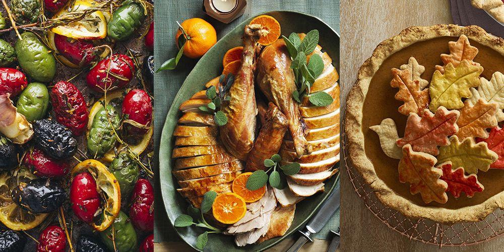 Premade Christmas Dinner  6 Thanksgiving Menu Ideas Easy Thanksgiving Dinner Menus