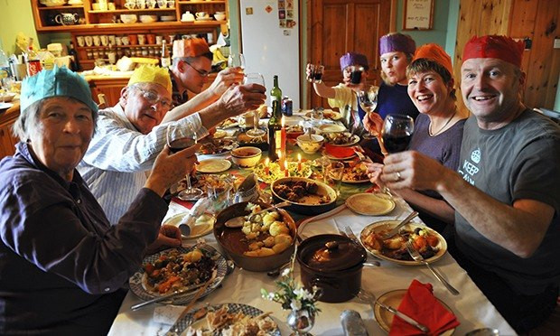 Premade Christmas Dinner  No carving no stuffing families opt for a ready made