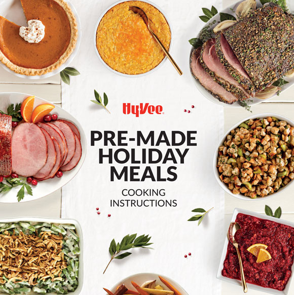 Premade Christmas Dinner  Hy Vee Your employee owned grocery store Pre Made