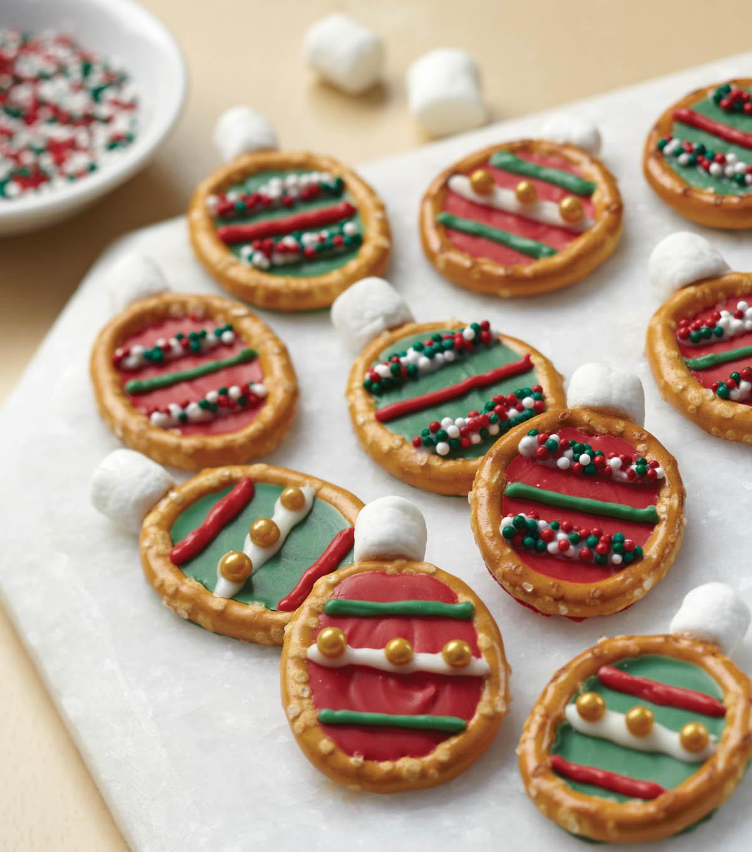 Pretzel Christmas Cookies  Easy Christmas Ornament Pretzel Treats JoAnn