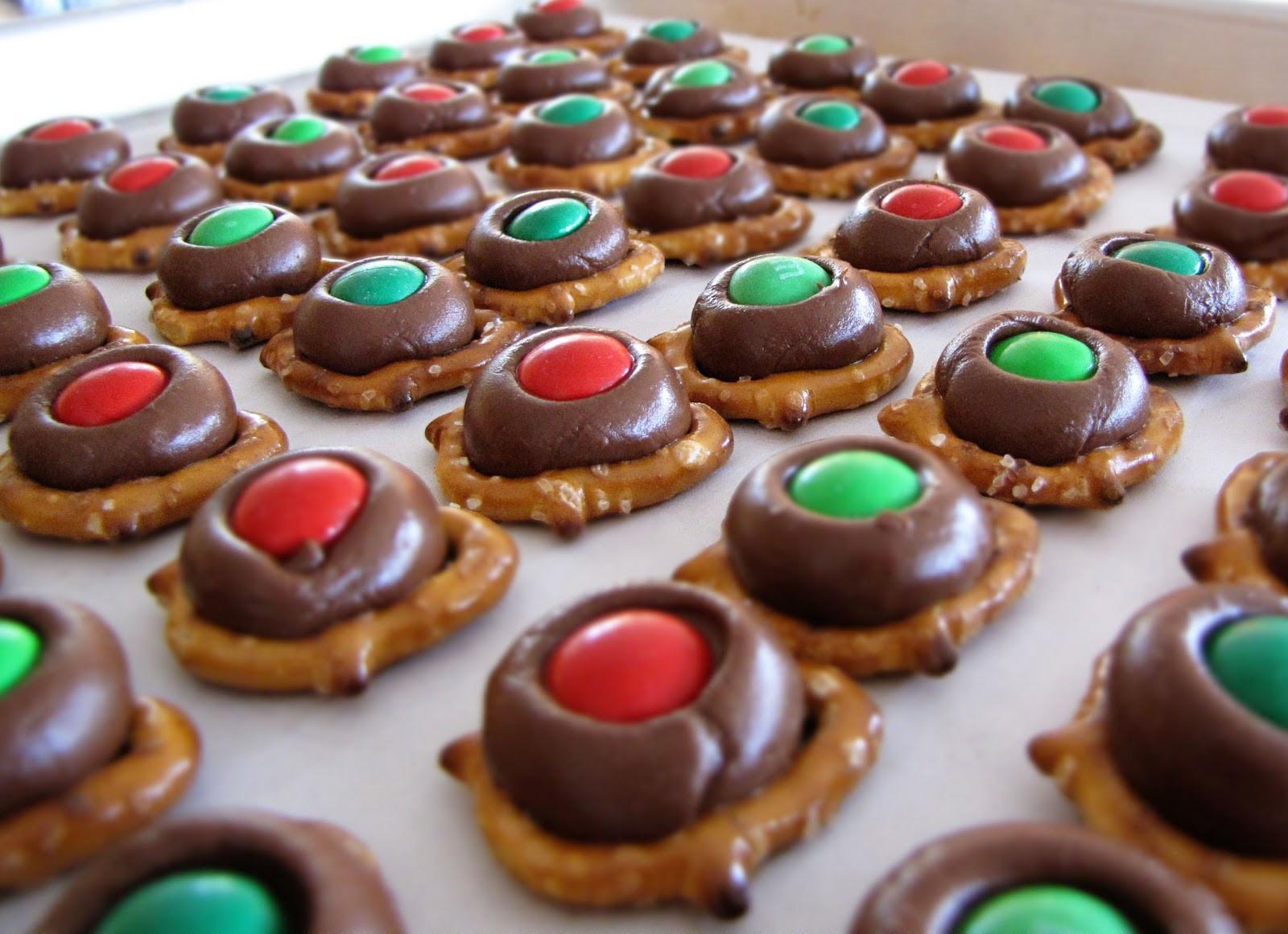 Pretzel Christmas Cookies  Sweet Anna s December 2009