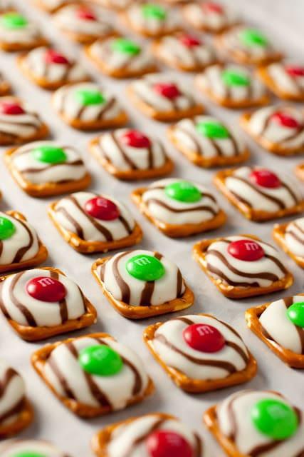 Pretzel Christmas Cookies  Pretzel M&M Hugs Christmas Style Cooking Classy