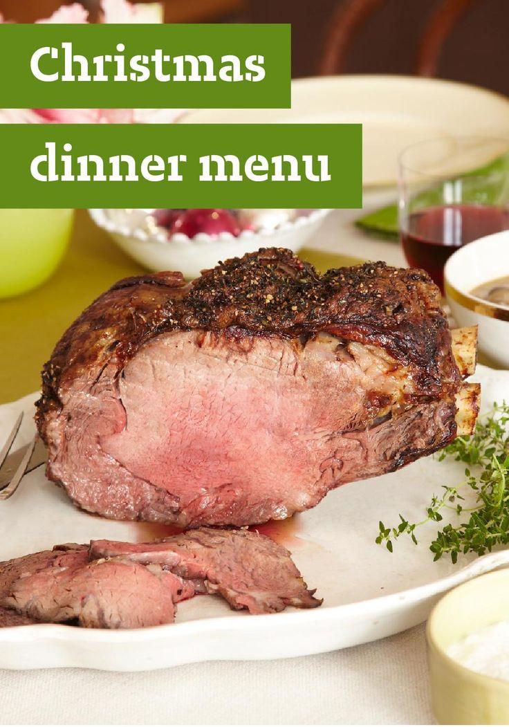 Prime Rib Christmas Dinner Menu  Christmas Dinner Menu — Is Christmas dinner at your house