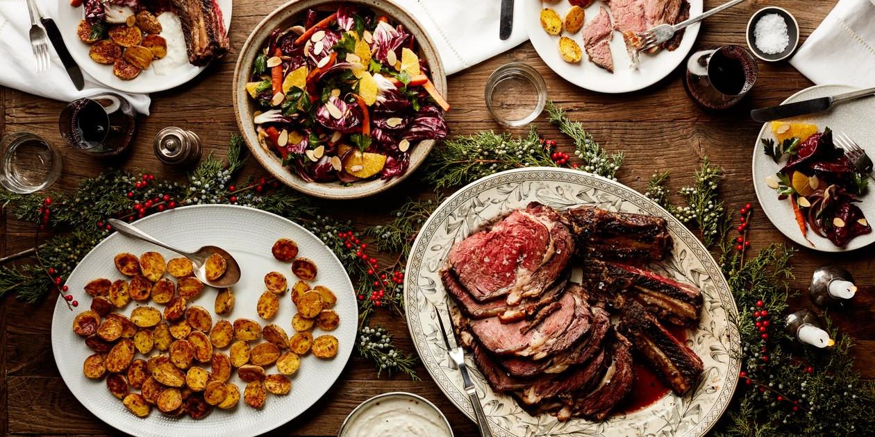 Prime Rib Christmas Dinner Menu  Easy Christmas Dinner Menu With Beef Rib Roast