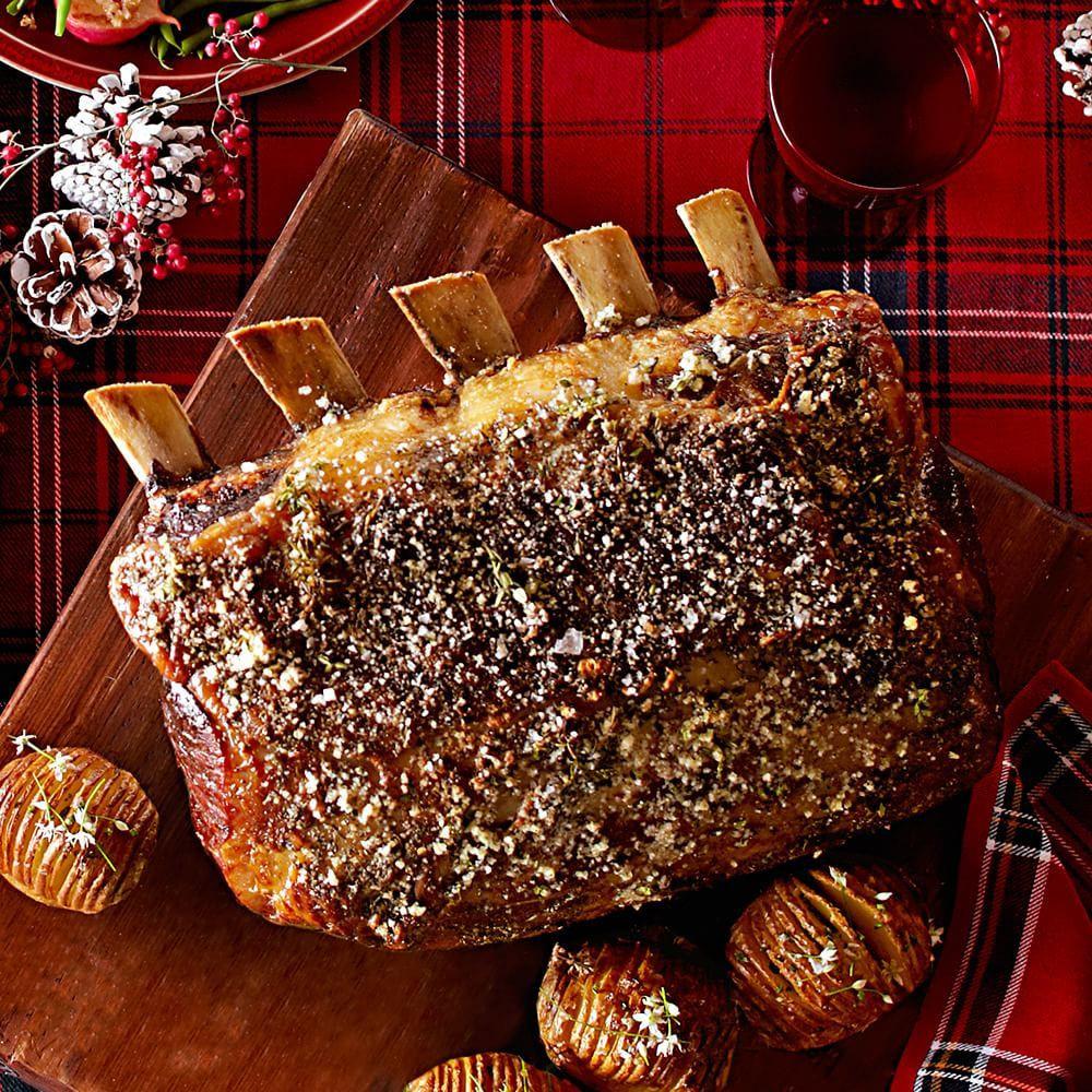 Prime Rib Christmas Dinner Menu Ideas  Prime Rib with Herbes de Provence Crust Recipe
