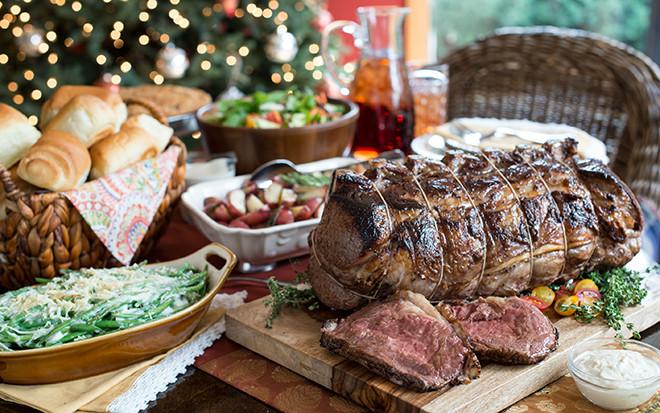 Prime Rib Christmas Dinner Menu  Prime Rib