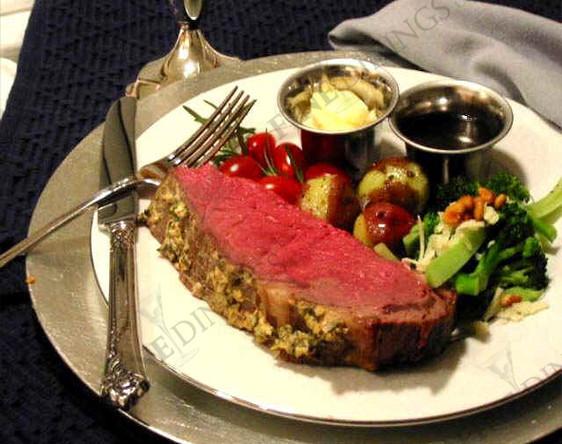 Prime Rib Christmas Dinner Menus  Fine Dining Recipes Menu Ideas Gourmet Christmas Dinner