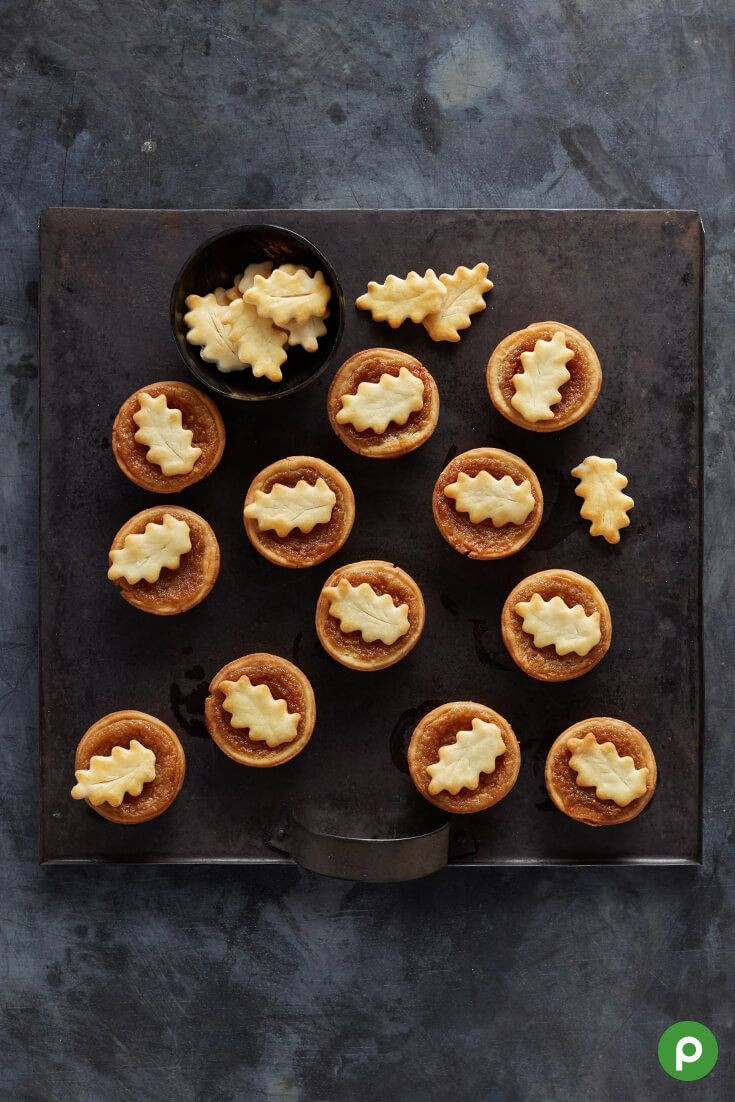 Publix Christmas Dinner  Maple Tarts from Publix This sweet fall treat will be a