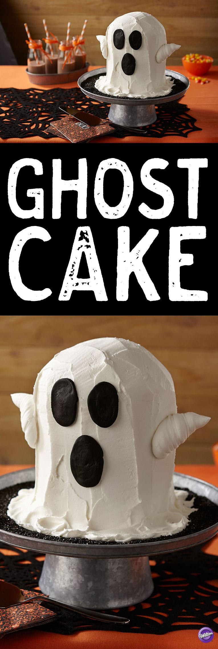 Publix Halloween Cakes  Ghost Cake