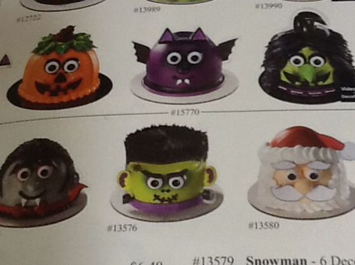 Publix Halloween Cakes  Mini Halloween cakes from Publix