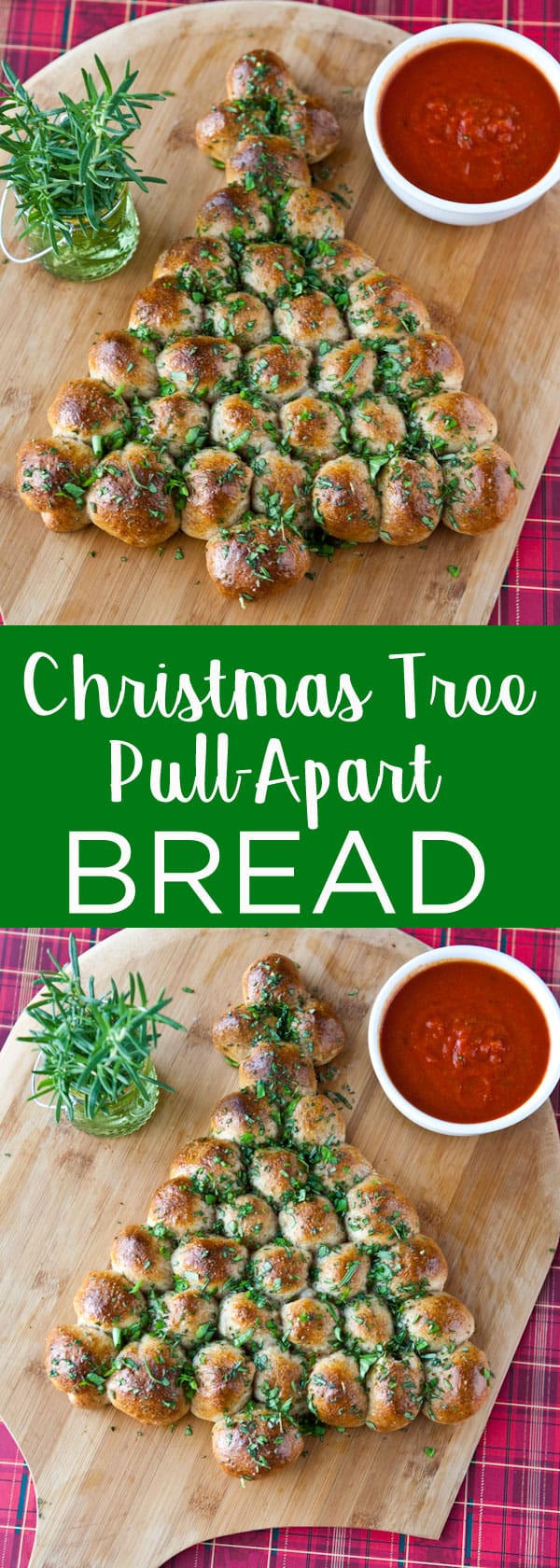 Pull Apart Christmas Tree Bread  Eclectic Recipes Christmas Tree Pull Apart