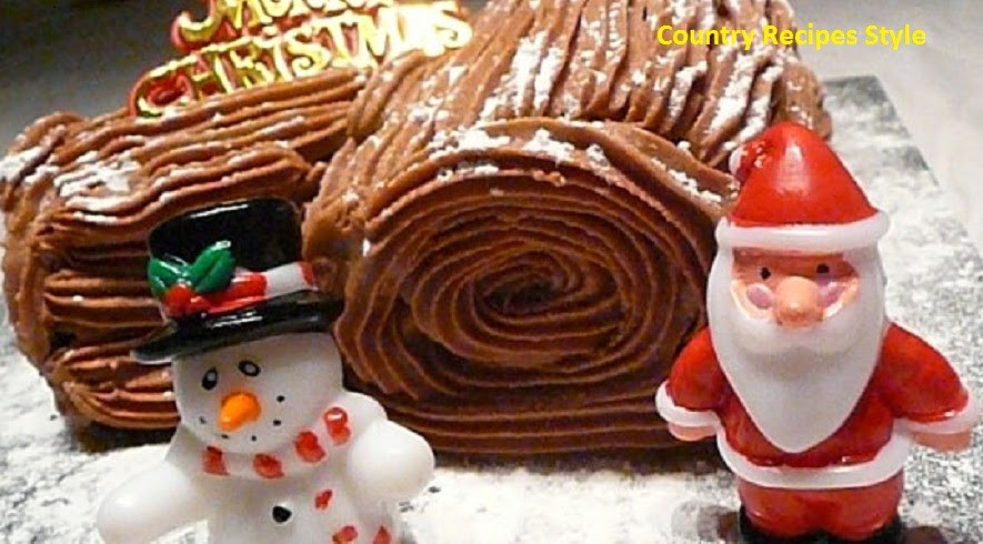 Quick And Easy Christmas Cake Recipes  Fast and Easy Christmas Yule Log Cake Country Recipes