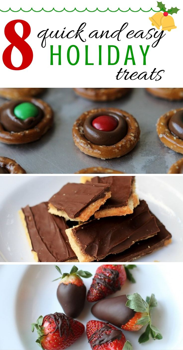 Quick And Easy Christmas Desserts  8 Quick and Easy Holiday Treats