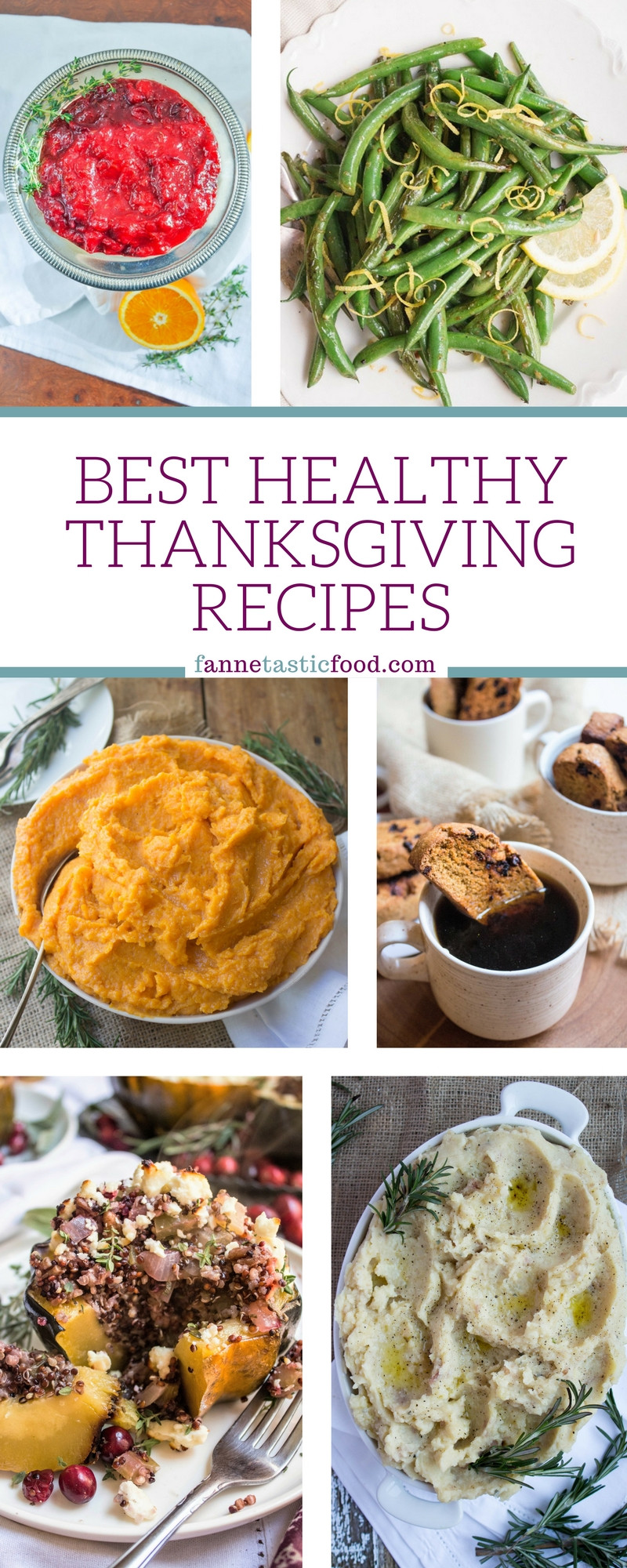 Quick And Easy Thanksgiving Recipes  Best Healthy Thanksgiving Recipes