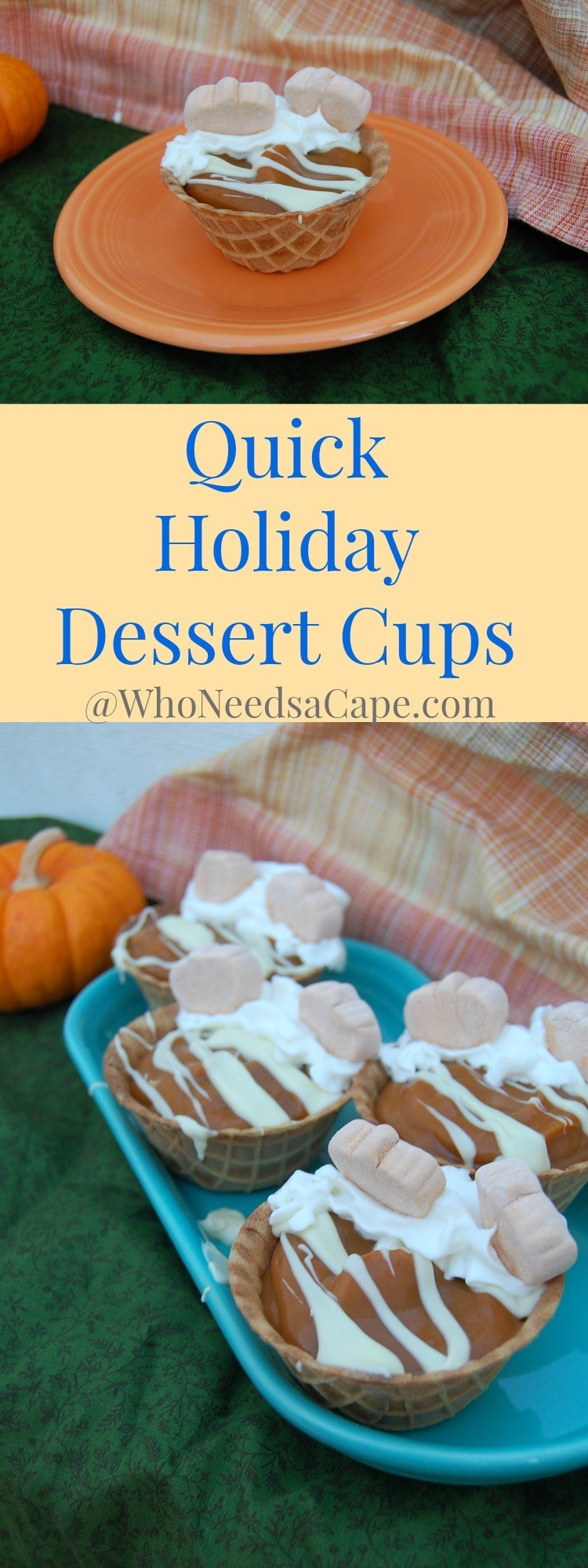 Quick Christmas Desserts  Quick Holiday Dessert Cups Who Needs A Cape