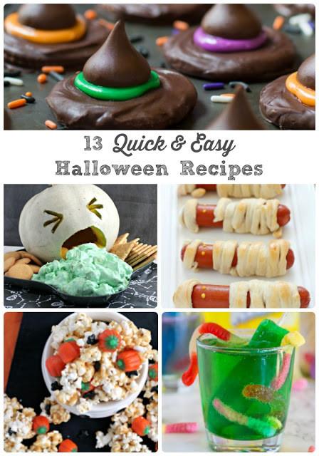 Quick Halloween Desserts  Frugal Foo Mama 13 Quick & Easy Last Minute Halloween