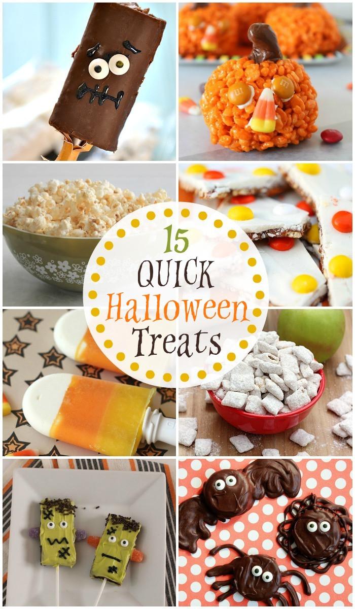 Quick Halloween Desserts  Halloween Drinks