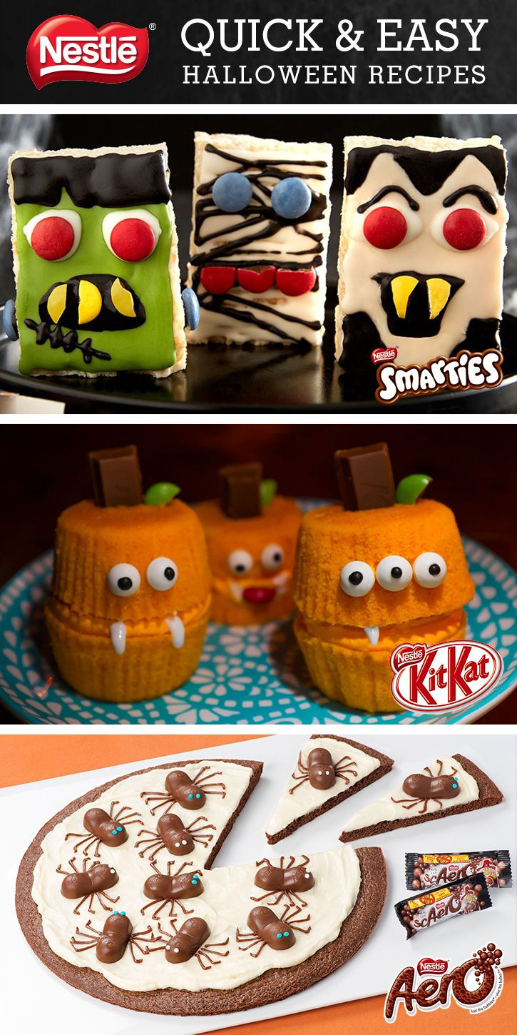 Quick Halloween Desserts  497 best images about Halloween Scary food on Pinterest