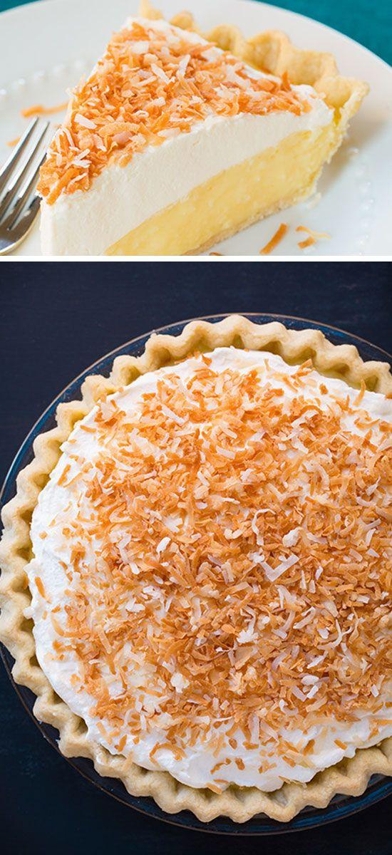 Quick Thanksgiving Desserts  Coconut Cream Pie