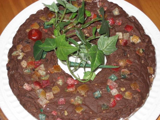 Rachael Ray Christmas Fudge Wreath  Christmas Fudge Wreath Recipe Food