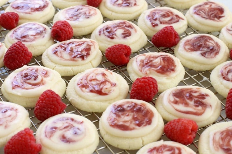 Raspberry Christmas Cookies  RASPBERRY MELTAWAY COOKIES Butter with a Side of Bread