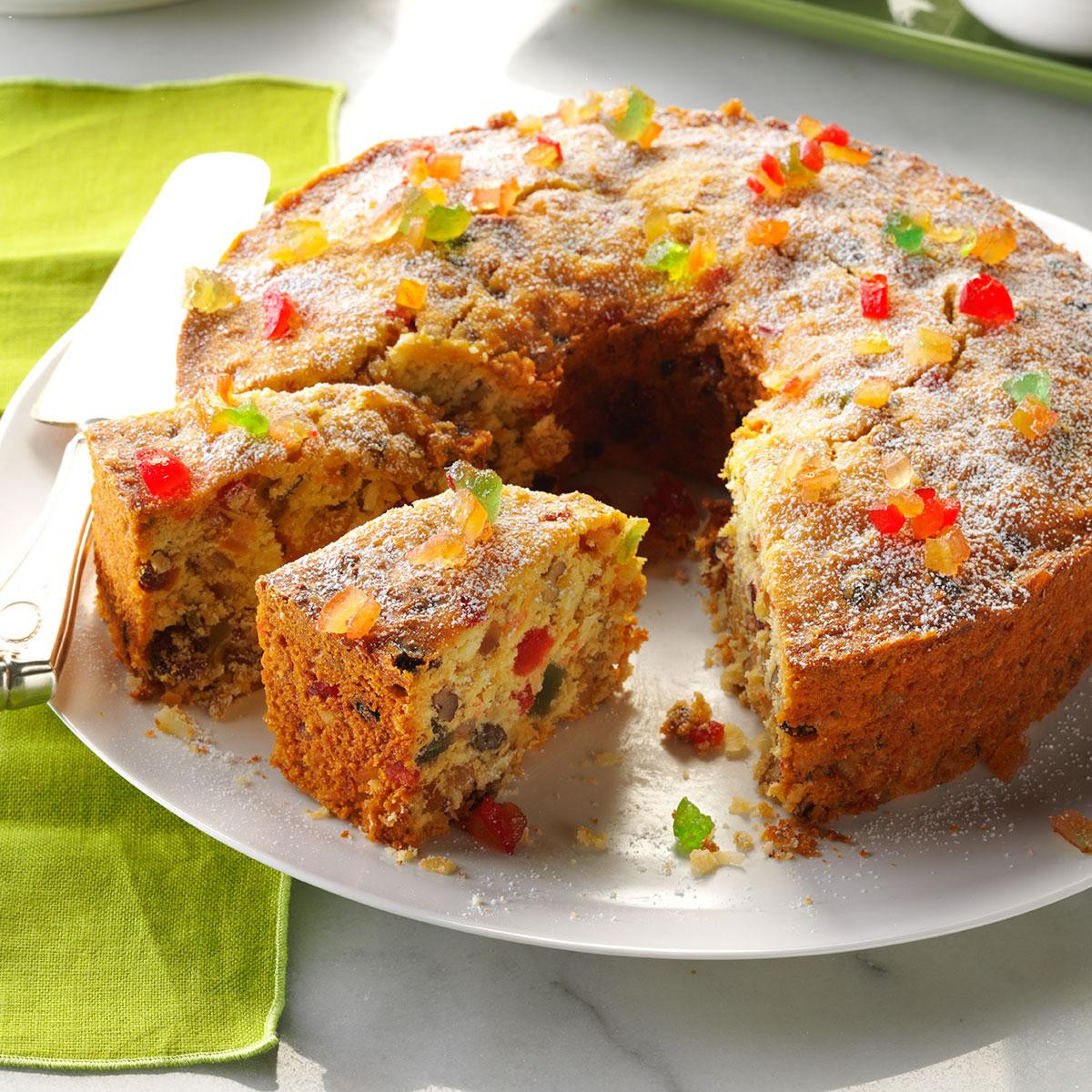 Recipe For Christmas Cakes  Coconut Fruitcake Recipe