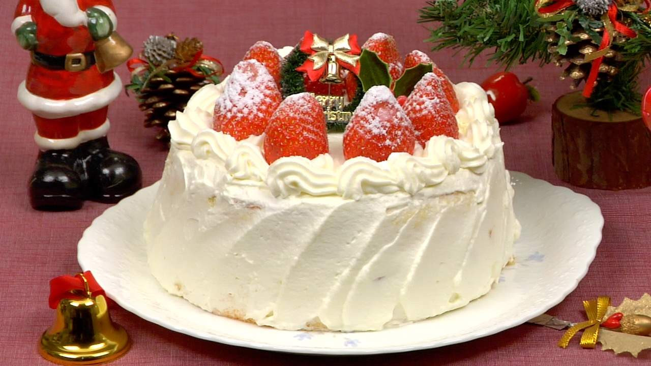 Recipe For Christmas Cakes  Christmas Cake Recipe Strawberry Sponge Cake – Cooking