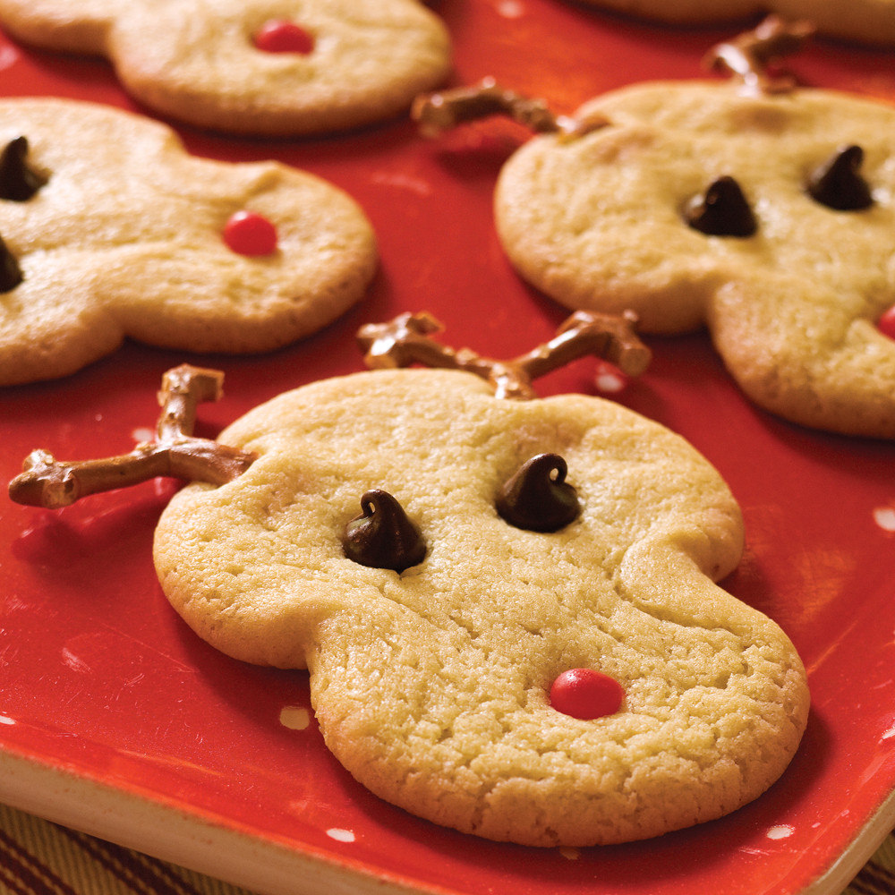 Recipe For Christmas Cookies  Rudolph s Christmas Sugar Cookies Recipe